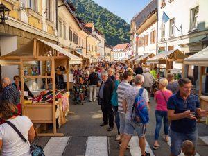 šušterska nedelja, praznik v Tržiču, sejem, festival, zadovoljni obiskovalci